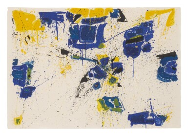 View 4. Thumbnail of Lot 194. SAM FRANCIS | FIRST STONE; DEUX MAGOTS; AND THE UPPER YELLOW (LEMBARK L.1, L.3 & L.4).