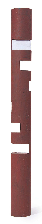 "View full screen - View 1 of Lot 574. BUKY SCHWARTZ   MAQUETTE FOR ""ATRIUM COLUMN"" (ISRAELI EMBASSY, WASHINGTON, D.C.)."