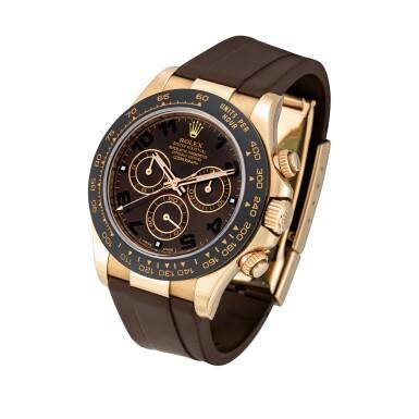 View 2. Thumbnail of Lot 2010. Rolex | Cosmograph Daytona, Reference 116515LN, An Everose gold chronograph wristwatch, Circa 2015 | 勞力士 | Cosmograph Daytona 型號116515LN  永恆玫瑰金計時腕錶,約2015年製.