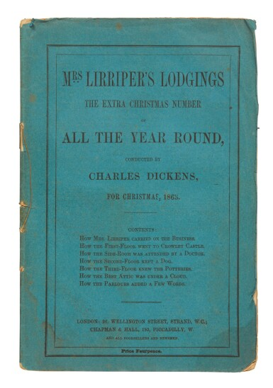 Dickens, Mrs Lirriper's Lodgings; No Thoroughfare; The Cricket on the Hearth, 1845-1867