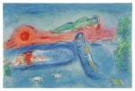 MARC CHAGALL   DEATH OF DORCON (M. 320; SEE C. BKS. 46)