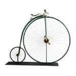 EARLY HIGH WHEEL BICYCLE, CIRCA 1880
