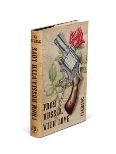 View 2. Thumbnail of Lot 24. FLEMING | From Russia, with Love, 1957, presentation copy inscribed to the author's wife.