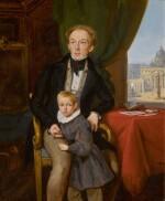 JEAN-AUGUSTE BARD   Portrait of Petr and Nikolai Meshchersky
