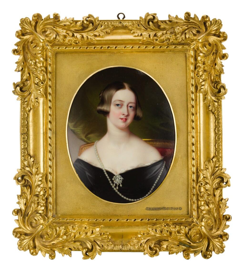 HENRY PIERCE BONE | PORTRAIT OF QUEEN VICTORIA (1819-1901)