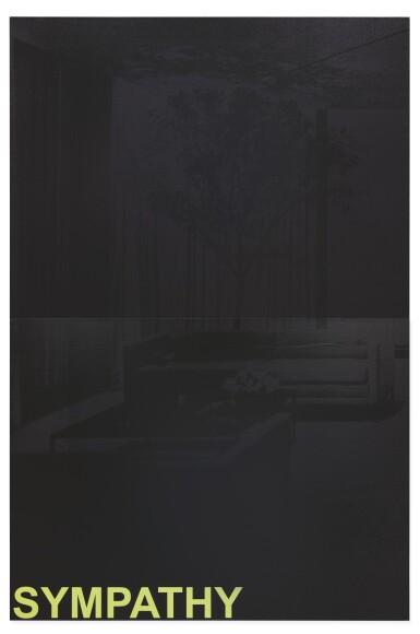 ADAM PENDLETON   TREE (BLACK)
