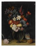 18TH CENTURY FOLLOWER OF JAN BRUEGHEL THE ELDER | STILL LIFE OF FLOWERS