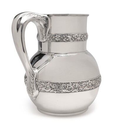 View 2. Thumbnail of Lot 207.  AN AMERICAN SILVER PITCHER, TIFFANY & CO., NEW YORK, CIRCA 1878.