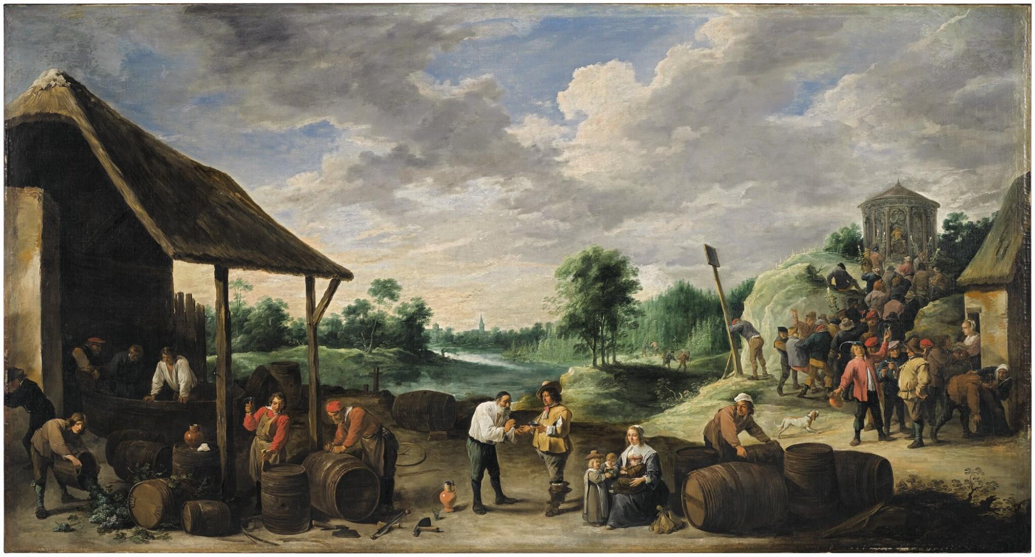 View 1 of Lot 12. The Wine Harvest |《葡萄酒收穫》.