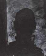 RICHARD HAMBLETON | SHADOW HEAD WITH GREY BACKGROUND