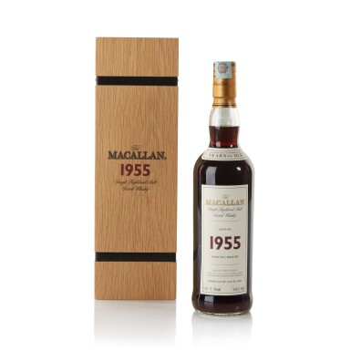 View 1. Thumbnail of Lot 30. The Macallan Fine & Rare 46 Year Old 45.9 abv 1955 .