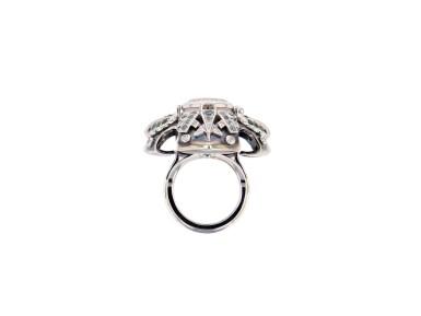 View 7. Thumbnail of Lot 11. Elie Top, Gem-Set, Diamond and Chrysoprase Ring [Bague Pierres de Couleur, Diamants et Chrysoprase], 'Eau d'Hiver'.