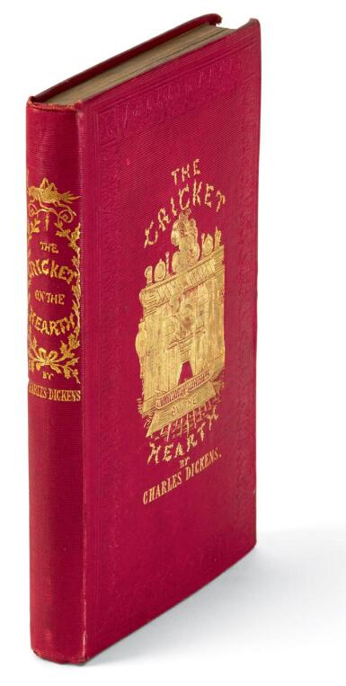 Dickens, The Cricket on the Hearth, 1845, presentation copy inscribed to Count d'Orsay