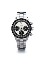 "ROLEX | REFERENCE 6263 DAYTONA ""PANDA MK 1.75 PAUL NEWMAN""  A STAINLESS STEEL CHRONOGRAPH WRISTWATCH WITH BRACELET, CIRCA 1970"