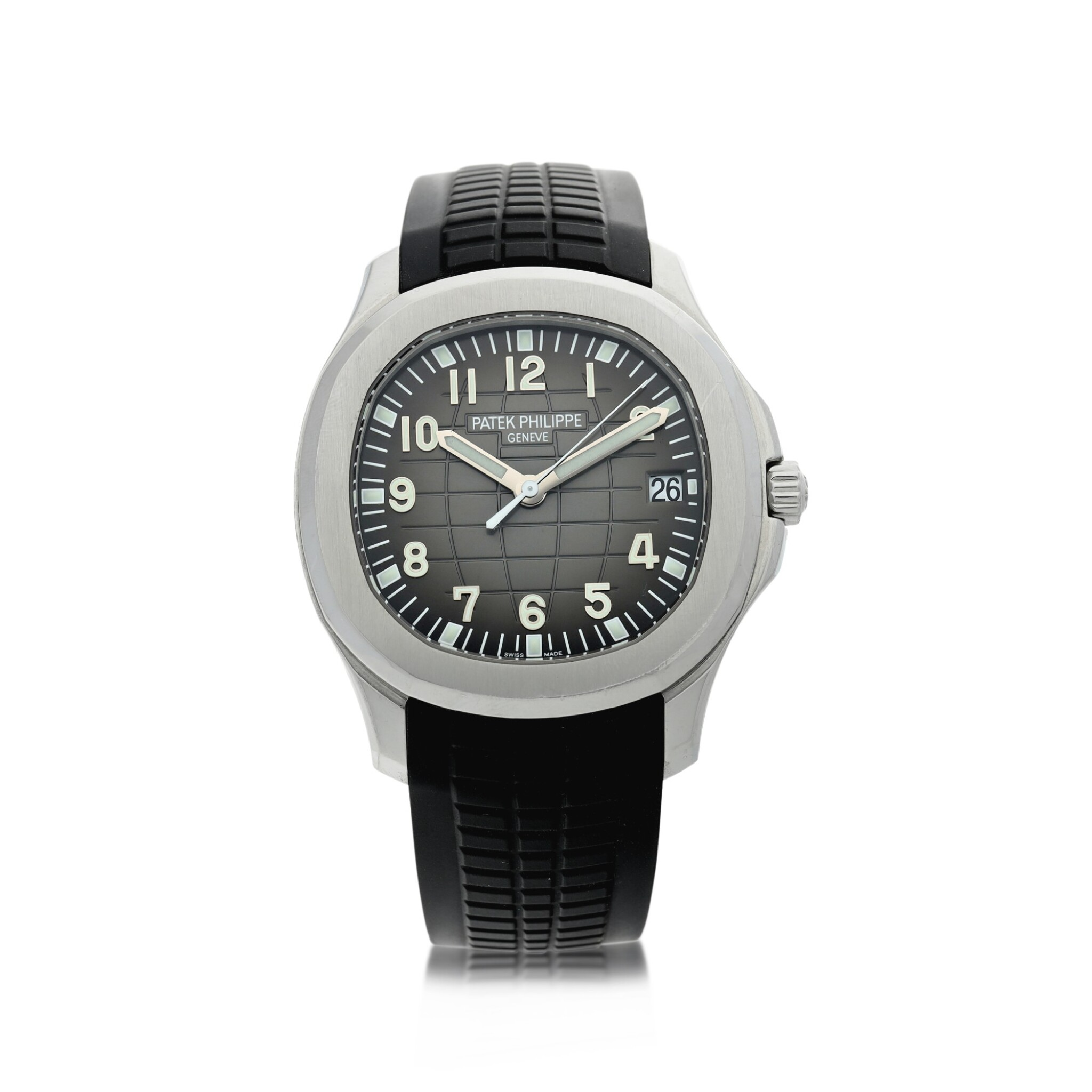 REFERENCE 5167A-001 AQUANAUT A STAINLESS STEEL AUTOMATIC WRISTWATCH WITH DATE, CIRCA 2015