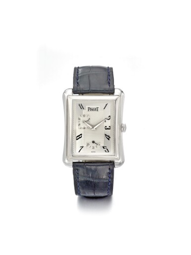 PIAGET | EMPERADOR REF. P10042 A WHITE GOLD AUTOMATIC WRISTWATCH WITH POWER RESERVE CIRCA 2002