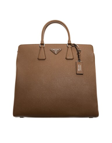View 2. Thumbnail of Lot 55. PRADA | SAFFIANO LEATHER GALLERIA TOTE BAG.