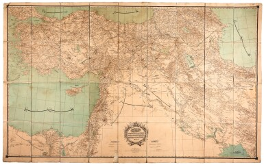 Map of the Ottoman Empire, [c.1887]