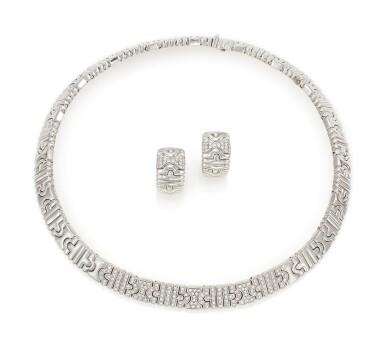 DIAMOND DEMI-PARURE 'PARENTESI' (DEMI-PARURE IN DIAMANTI 'PARENTESI'), BULGARI