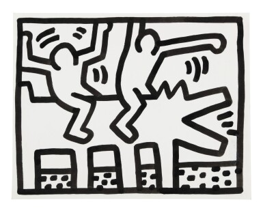 View 1. Thumbnail of Lot 210. Untitled (Pop Shop Drawing).