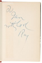 [FLEMING'S LIBRARY]--CHANDLER   Playback, 1958, presentation copy