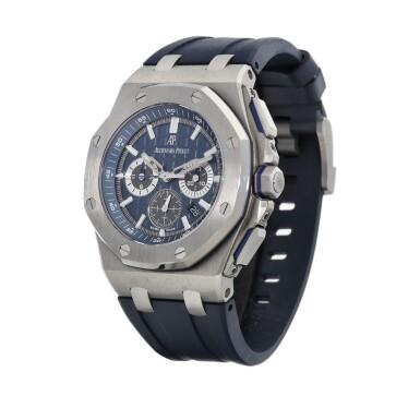 View 2. Thumbnail of Lot 8224. Royal Oak Offshore, Reference 26480TI | A titanium chronograph wristwatch with date, Circa 2020 | 愛彼 皇家橡樹離岸型系列 型號26480TI | 鈦金屬計時腕錶,備日期顯示,約2020年製.
