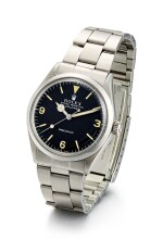 ROLEX | EXPLORER, REFERENCE 5500, A STAINLESS STEEL WRISTWATCH WITH BRACELET, CIRCA 1971