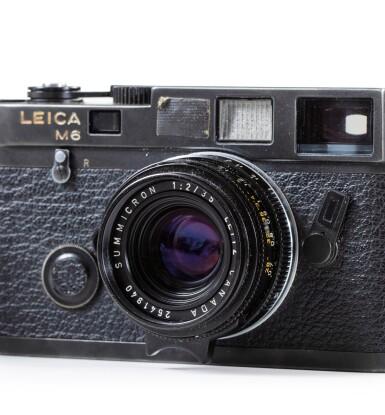 View 3. Thumbnail of Lot 66. Leica M6 Camera of Paolo Roversi.