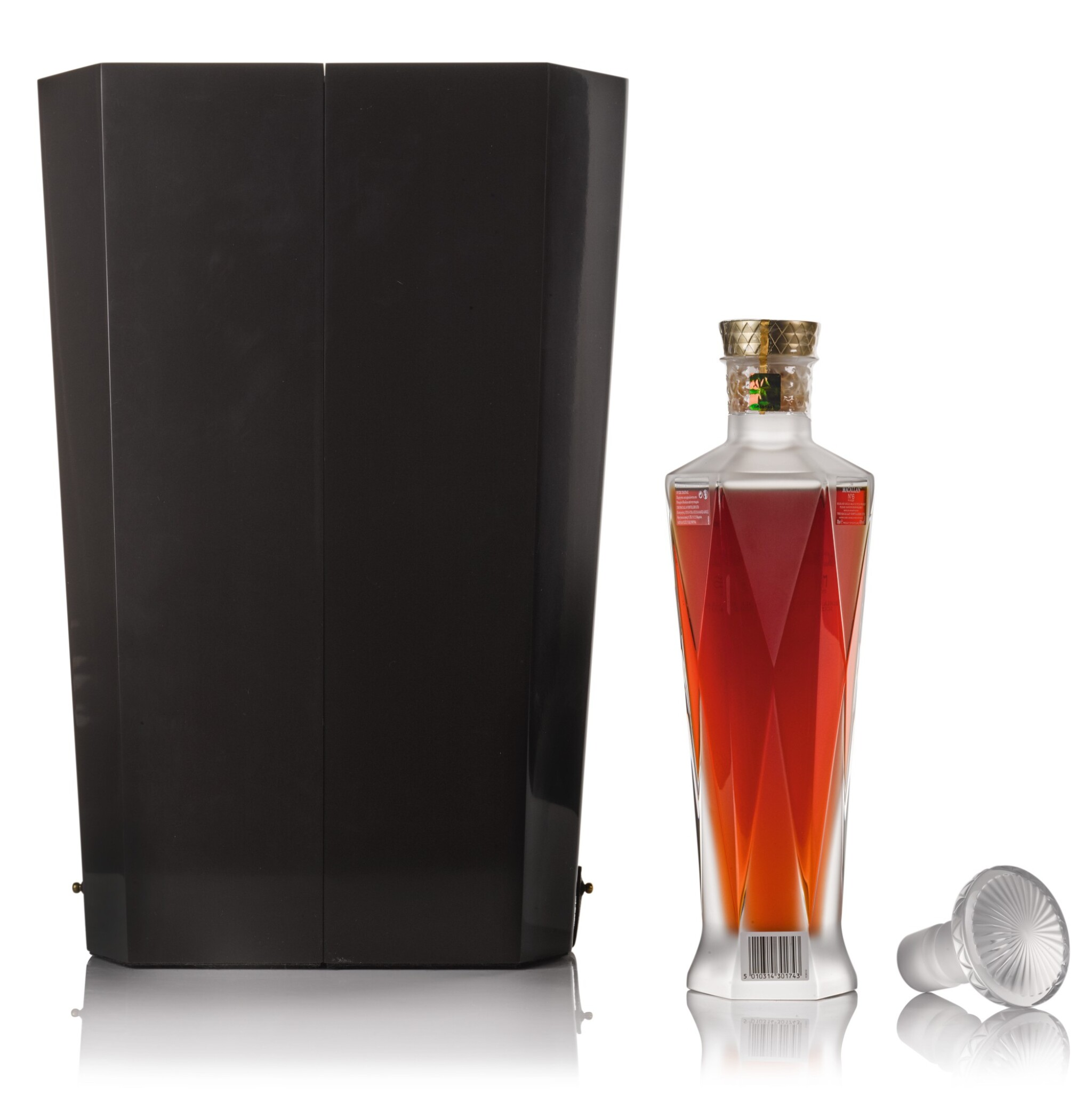 View full screen - View 1 of Lot 76. The Macallan No. 6 In Lalique Decanter 43.0 abv NV .