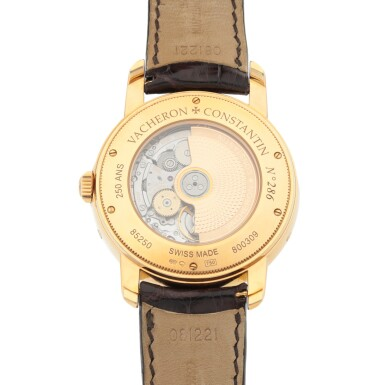View 4. Thumbnail of Lot 907.  VACHERON CONSTANTIN |  JUBILEE 1755, REF 85250  YELLOW GOLD WRISTWATCH WITH DAY, DATE AND POWER RESERVE INDICATION   CIRCA 2005.