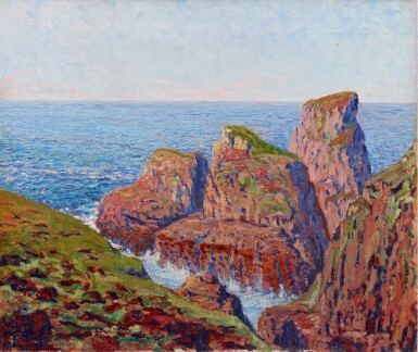 View 1. Thumbnail of Lot 36. GUSTAVE CARIOT | CÔTE ROCHEUSE.