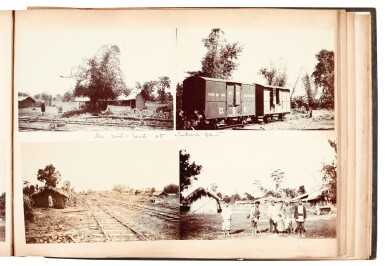 View 3. Thumbnail of Lot 308. India, Abor Expedition | 4 photograph albums, 1911-12.