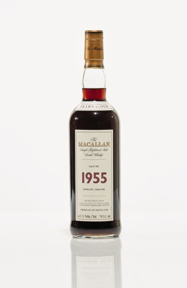 View 1. Thumbnail of Lot 7. The Macallan Fine & Rare 46 Year Old 45.9 abv 1955 (1 BT75cl).
