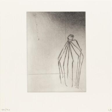 View 2. Thumbnail of Lot 139. Ode à ma mère. Éditions du Solstice, 1995. Ex. signé et numéroté, 9 pointes-sèches monogrammées.