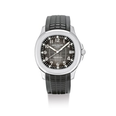 "PATEK PHILIPPE | AQUANAUT, REFERENCE 5167, A STAINLESS STEEL WRISTWATCH WITH DATE, RETAILED BY TIFFANY & CO., CIRCA 2010 | 百達翡麗 | ""Aquanaut 型號5167 精鋼腕錶,備日期顯示,由蒂芙尼發行,機芯編號5521282,錶殼編號4727514,約2010年製"""