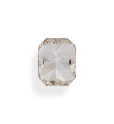 View 5. Thumbnail of Lot 1. A 6.14 Carat Fancy Brown-Orange Cut-Cornered Rectangular Modified Brilliant-Cut Diamond, VS1 Clarity.