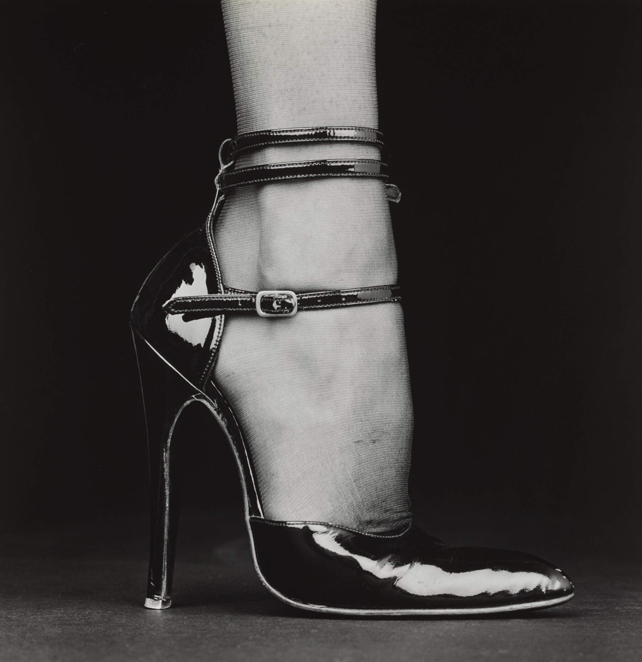 View full screen - View 1 of Lot 77. ROBERT MAPPLETHORPE | MELODY (SHOE), 1987.
