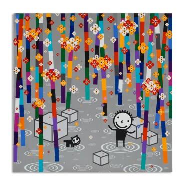 權奇秀 Kwon Ki-Soo | 在銀色的森林賞花 Playing Flowers in the Silver Forest