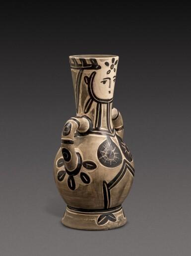 View 2. Thumbnail of Lot 12. Vase deux anses hautes (A. R. 213).