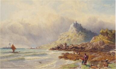 View 1. Thumbnail of Lot 224. Saint Michael's Mount, Cornwall.