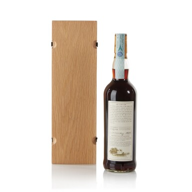 View 2. Thumbnail of Lot 30. The Macallan Fine & Rare 46 Year Old 45.9 abv 1955 .