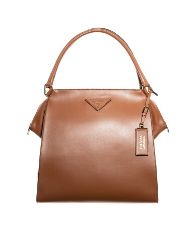 View 2. Thumbnail of Lot 27. PRADA | LOUISE LEATHER TOTE, WORN BY LEXI BOLING.
