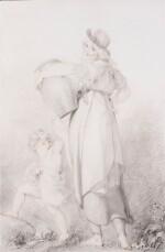 SIR THOMAS LAWRENCE, P.R.A. | THE BEAUTIFUL WASHERWOMAN