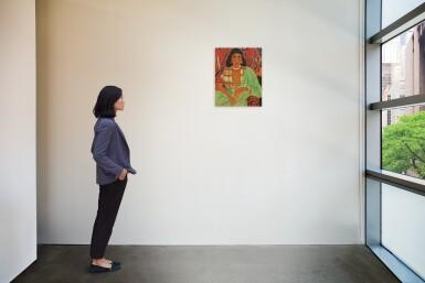 View 2. Thumbnail of Lot 49. YOUSEFF SIDA   HINDYA (INDIAN WOMAN).