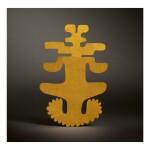 TOLIMA GOLD ABSTRACT FIGURAL ORNAMENT CIRCA AD 500-1000
