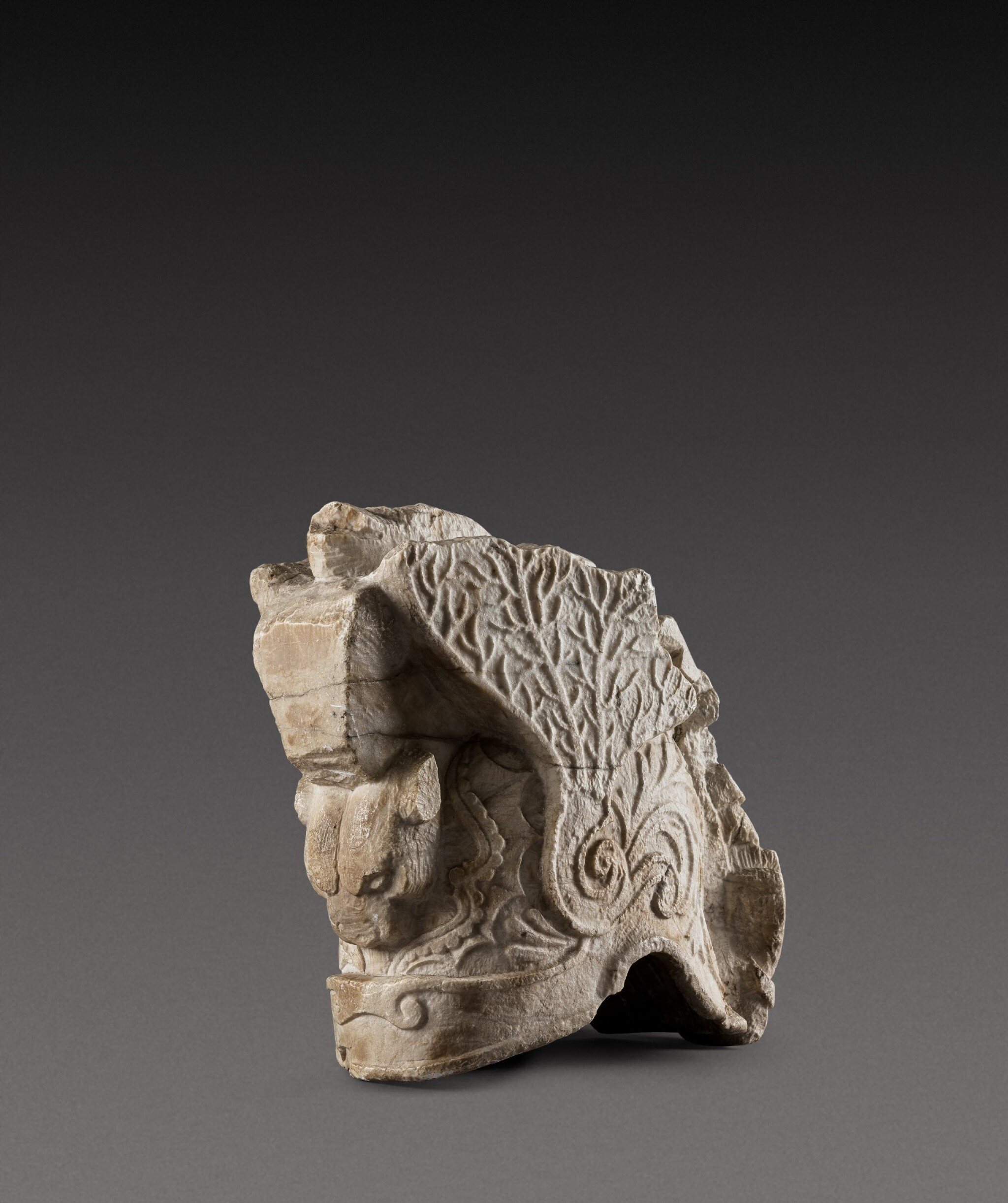 View 1 of Lot 156. Southern Netherlandish, late 16th/ early 17th century | Helmet Fragment.