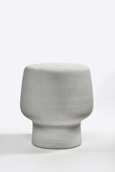 View 1. Thumbnail of Lot 107. Serpentine Stool.