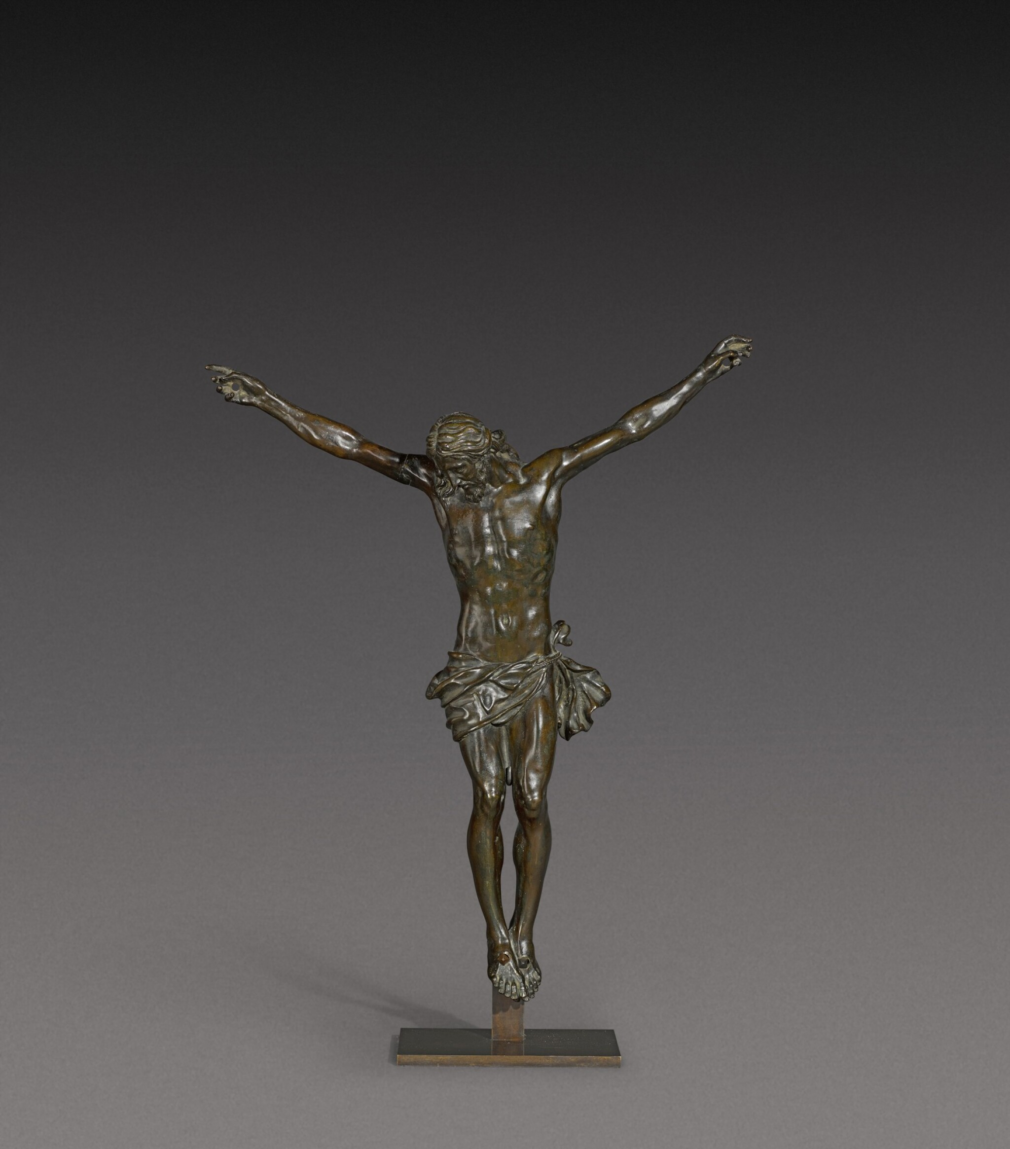 View full screen - View 1 of Lot 160. French, 17th century   Crucifix.