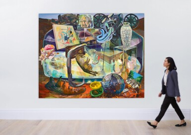 View 5. Thumbnail of Lot 23. Dana Schutz 戴娜・舒茨   Wrong Objects Saved for the Future 為將來保存了錯誤的東西.