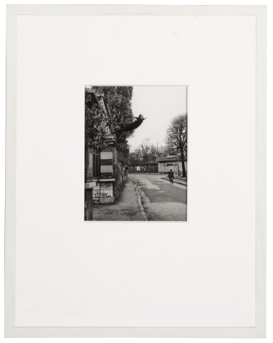 View 2. Thumbnail of Lot 1. Leap into the Void (5, rue Gentil-Bernard, Fontenay-aux-Roses, October 1960) (Artistic action by Yves Klein - Collaboration with Harry Shunk and János Kender).